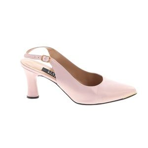 "Stuart Weitzman Slingback Leather 3"" Heel Pumps"